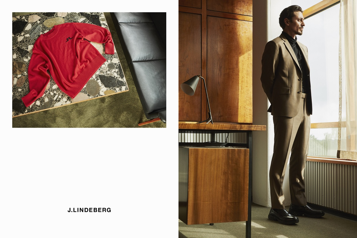 LUNDLUND : J Lindeberg FW20 Mens Campaign