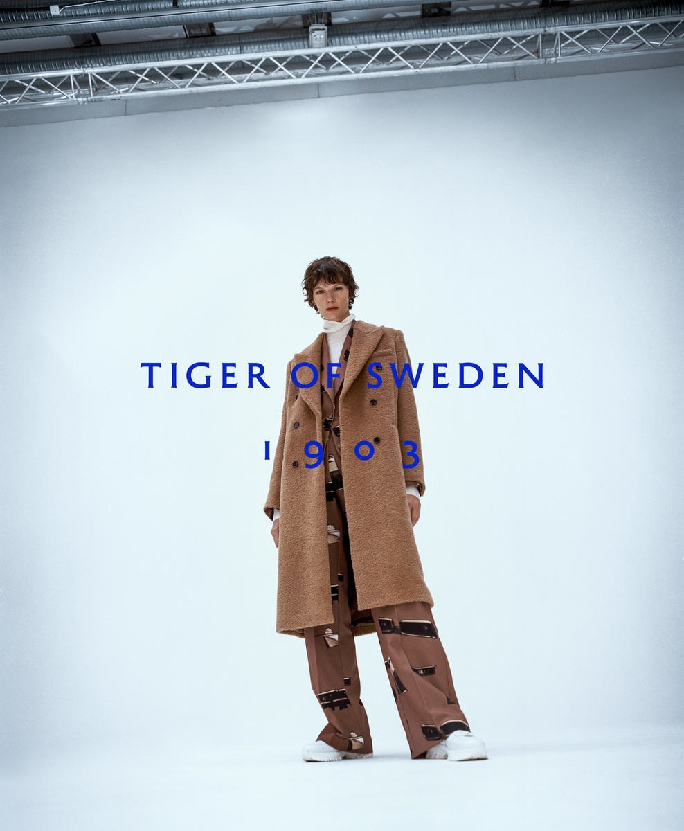 LUNDLUND : Tiger of Sweden AW20 Campaign