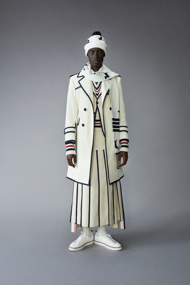 LUNDLUND : Thom Browne Fall21 Menswear