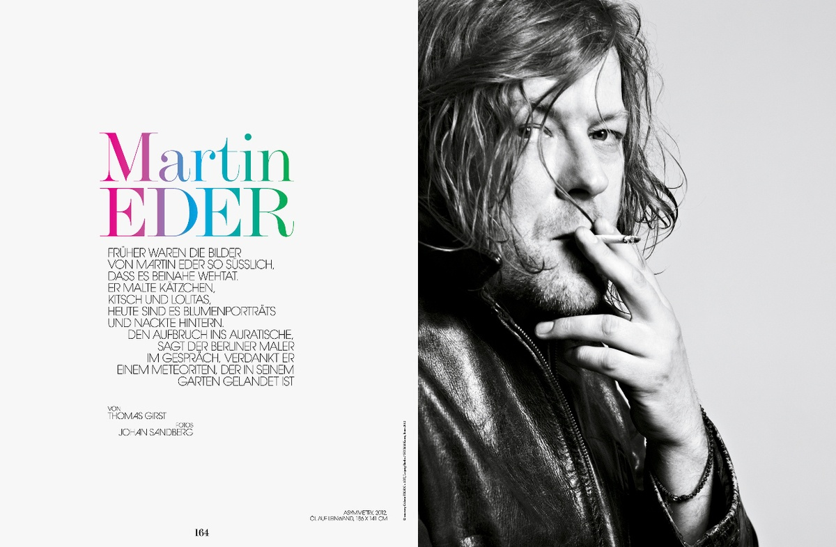 LUNDLUND : Interview - Martin Eder