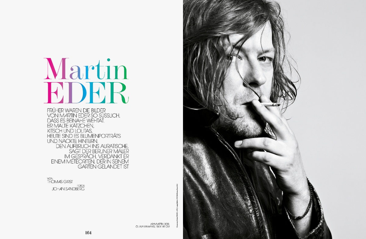 LUNDLUND : Interview Martin Eder