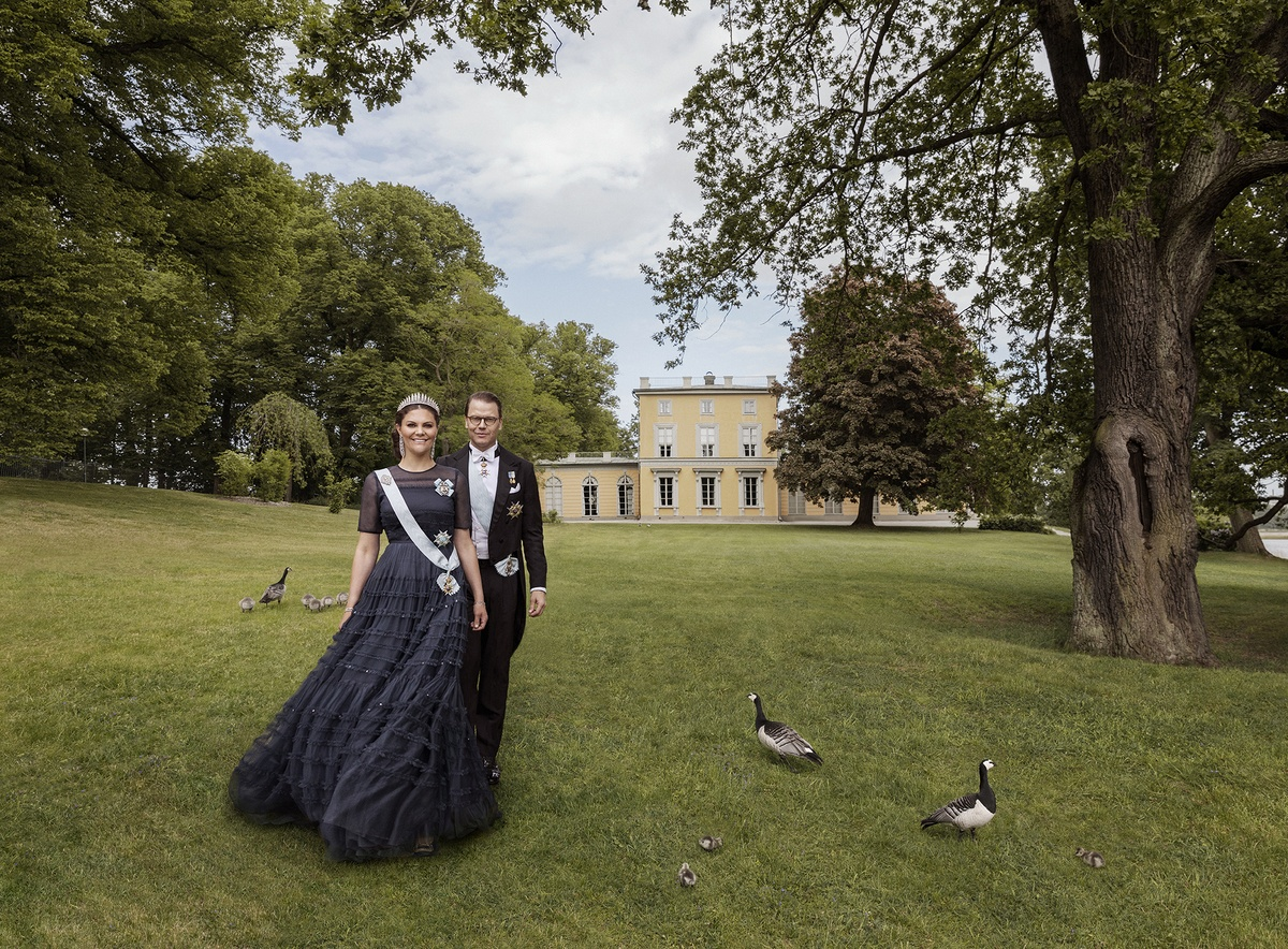 LUNDLUND : HRH Crown Princess Victoria and HRH Prince Daniel of Sweden - The Royal Court of Sweden